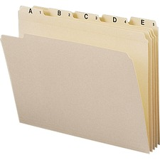 SMD 11777 Smead A-Z Recycled Top Tab File Folder Set SMD11777