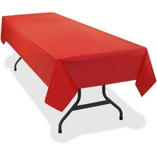 TBL 549RD Tablemate Heavy-duty Plastic Table Covers TBL549RD