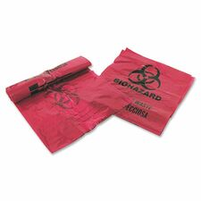MHM 03EB086000 MHMS Infectious Waste Red Disposal Bags MHM03EB086000
