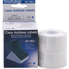 SKP SLP2RLC Seiko SmartLabels Clear Address Labels SKPSLP2RLC