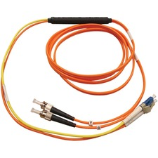 Tripp Lite 10 ft Mode Conditioning Fiber Optic Cable LC to ST