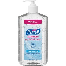 GOJ 302312EA GOJO PURELL Advanced Hand Sanitizer Refreshing Gel GOJ302312EA