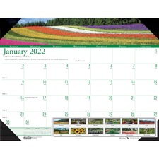 HOD 174 Doolittle EarthScapes Gardens Desk Pad HOD174