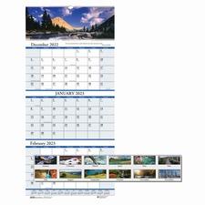 HOD 3638 Doolittle Earthscapes Scenic 3-mth Wall Calendar HOD3638