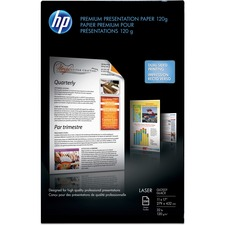 "HP Laser Paper - Ledger/Tabloid - 11"" x 17"" - 32 lb Basis Weight - Glossy - 97 Brightness - 250 / Pack - White"