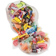 OFX 00013 Office Snax Soft & Chewy Mix Assorted Candy Tub OFX00013