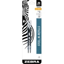 ZEB 88112 Zebra G-301 JK Gel Stainless Steel Pen Refill ZEB88112