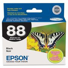 Epson 88 Original Ink Cartridge - Inkjet - Black - 1 Each