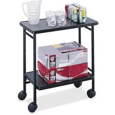 SAF 8965BL Safco Folding Office Cart SAF8965BL