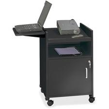 SAF 8927BL Safco Compact AV Projector Stand SAF8927BL