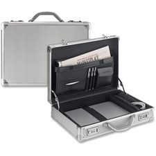 USL AC10010 US Luggage Aluminum Computer Attache Case USLAC10010