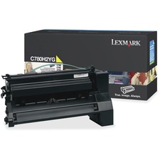 LEXC780H2YG - Lexmark Original Toner Cartridge