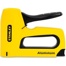 "Stanley Bostitch Sharpshooter T50 Staple Gun - 1/4"", 3/8"", 1/2"", 5/16"" Staple Size - Yellow"