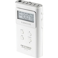 Sangean DT-120 AM/FM Stereo Pocket Radio