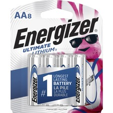 EVE L91SBP8 Energizer Ultimate Lithium AA Batteries EVEL91SBP8