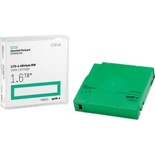 HPE LTO4 Ultrium 1.6TB Data Rewritable Cartrdige - LTO-4 - 800 GB (Native) / 1.60 TB (Compressed) - 1 Pack