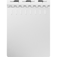 SKILCRAFT Aluminum Notepad Binder
