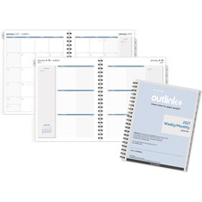 AAG 70200910 At-A-Glance Outlink Weekly Planner Refill AAG70200910