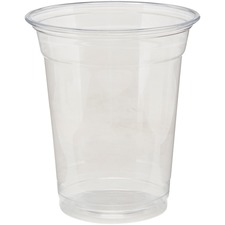 DXE CP12DXCT Dixie Foods Crystal Clear Plastic Cups DXECP12DXCT