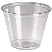 DXE CP9ACT Dixie Foods Crystal Clear Plastic Cups DXECP9ACT