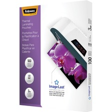 FEL 52454 Fellowes Letter-size Glossy Laminating Pouches FEL52454