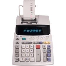 SHREL1801V - Sharp EL-1801V 12 Digit Printing Calculator
