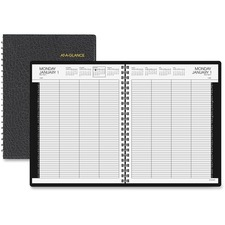 AAG7021278 - At-A-Glance 8-Person Group Daily Appointment Book