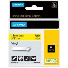 DYM 18433 Dymo Colored Industrial Rhino Vinyl Labels DYM18433