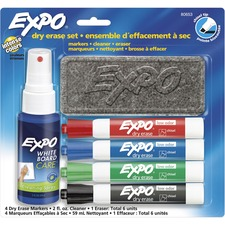 SAN 80653 Sanford Expo Low-Odor Dry-erase Set SAN80653