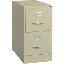LLR 60655 Lorell Locking Vertical Letter-size Drawer File LLR60655