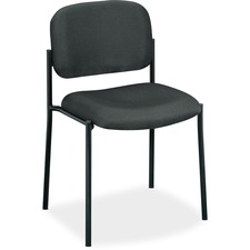 BSX VL606VA19 HON VL600 Series Armless Stacking Guest Chairs BSXVL606VA19