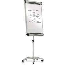 Quartet Euro Magnetic Total Erase Mobile Easel