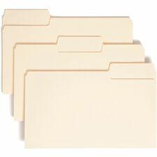 SMD 15301 Smead 1/3 Cut Manila SuperTab Folders SMD15301