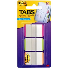 "MMM 686LPGO 3M Post-it Durable 1"" Filing Tabs MMM686LPGO"