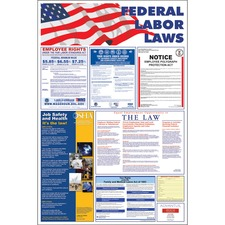 AVT83800 - Advantus Federal Labor Law Poster