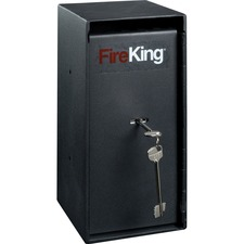 FIR MS1206 FireKing Trim Safe w/Cash Drop Slots FIRMS1206