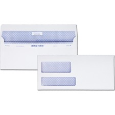 QUA67529 - Quality Park Reveal-n-Seal Double Window Envelopes