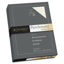 SOU J988C Southworth 32lb Parchment Specialty Paper SOUJ988C
