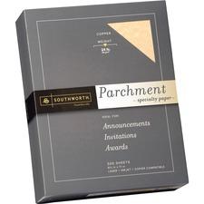SOU 894C Southworth 24 lb. Parchment Specialty Paper SOU894C