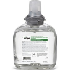 GOJ 566502 GOJO Green Certified Foam Soap TFX Dispnsr Refill GOJ566502