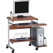 MLN 946MEC Mayline Portrait PC Desk Cart MLN946MEC
