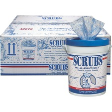 ITW 42272CT ITW Scrubs In-A-Bucket Hand Cleaner Towels ITW42272CT