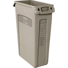 RCP 354060BG Rubbermaid Comm. Venting Slim Jim Waste Container RCP354060BG