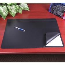 """Artistic Hide-Away Desk Pads - Rectangle - 24"""" (609.60 mm) Width x 19"""" (482.60 mm) Depth - Foam - Rhinolin - Black"""
