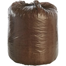 STO G3036B80 Stout Controlled Life-Cycle Plastic Trash Bags STOG3036B80