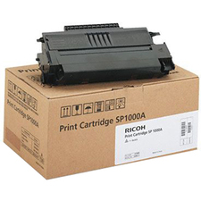 Ricoh High Yield Black Toner Cartridge Type SP1000A