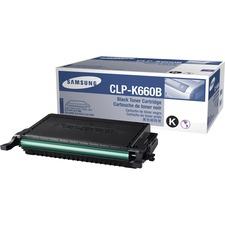 SAS CLPK660B Samsung CLPK660B Toner Cartridge SASCLPK660B