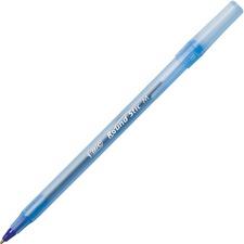 BICGSM609BE - BIC Round Stic Ballpoint Pens