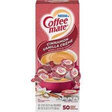 NES 42498 Nestle Coffee-mate Cinnam. Vanilla Liquid Creamer NES42498