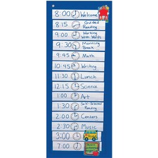 CDP CD5615 Carson Scheduling Pocket Chart CDPCD5615
